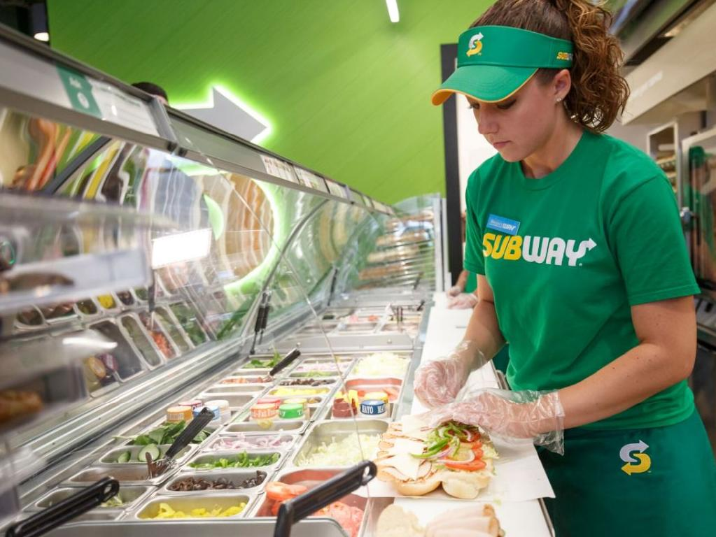 The new Subway menu trial is underway. Picture: Supplied