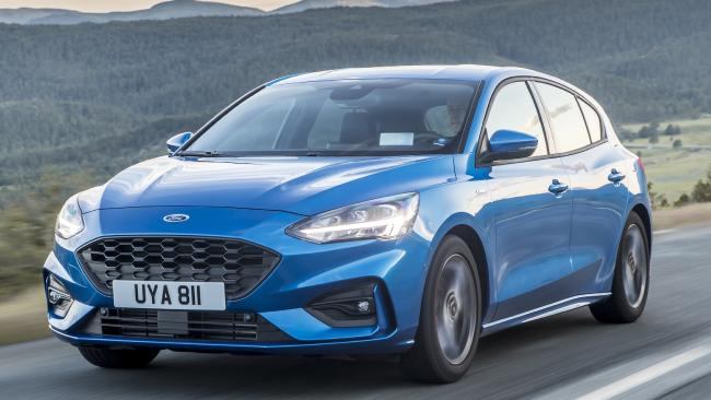 The new Ford Focus is a true competitor to the VW Golf.