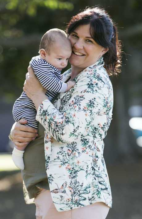 Susan Mosey said being a single mum allowed her to give her undivided attention to her son. Picture: Dylan Robinson