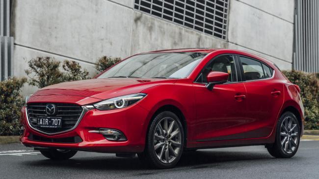 Supplied Cars Mazda3 SP25 Astina
