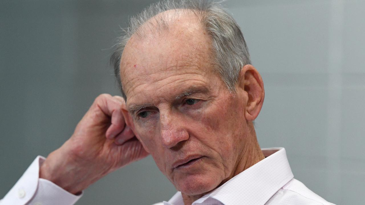 Wayne Bennett has asked for a contract extension. (AAP Image/Dave Hunt)