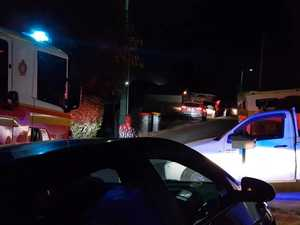 Man run over on Oaka Ln, Gladstone Central
