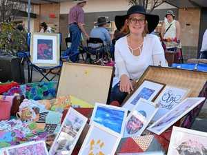 Art teacher turns a creative hobby into a colourful business