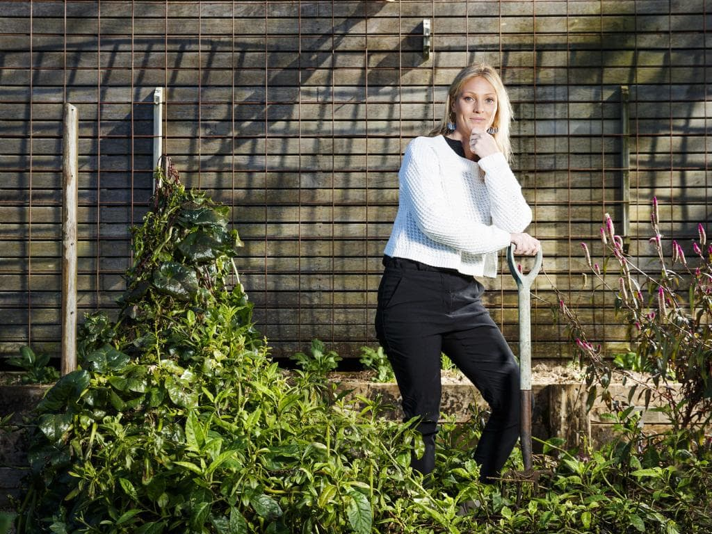 Spicers Retreats' Alice Dahlberg has been implementing eco-policies across the resorts, including banning plastics and straws, composting, and cultivating restaurant gardens. Picture: Lachie Millard