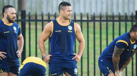 Jarryd Hayne has already begun training.