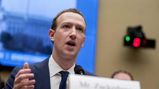 Facebook CEO Mark Zuckerberg is facing more heat after the share market plunge. Picture: AFP