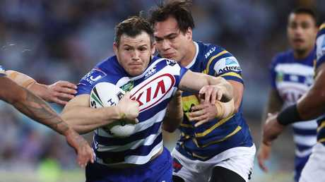 Brett Morris has been forced out of the Bulldogs due to salary cap constraints. Picture: Matt King/Getty Images