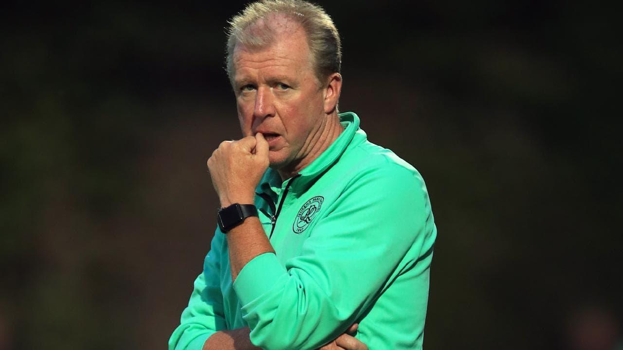 QPR manager Steve McClaren.