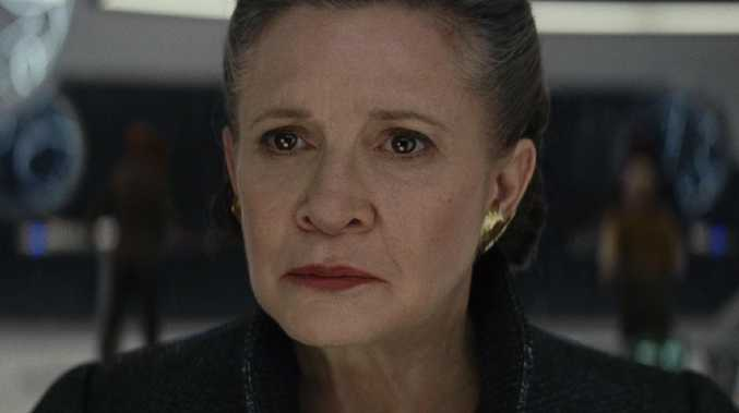 General Leia (played by Carrie Fisher) Photo: Lucasfilm Ltd. © 2017 Lucasfilm Ltd.