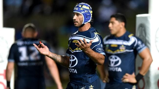 Johnathan Thurston's final season has not got to plan. Picture: Alix Sweeney