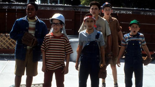 The Sandlot kids. Picture: Getty