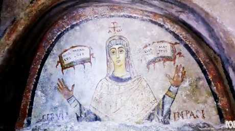Cerula (above) was a bishop in the fifth century before Emperor Constantine airbrushed women from Christianity's lead roles.
