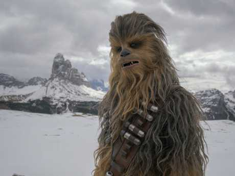 Joonas Suotamo is Chewbacca in Solo: A Star Wars Story. Picture: Supplied