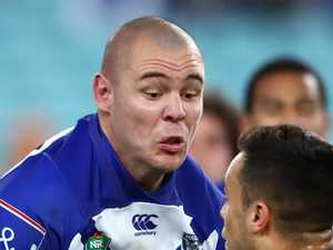 Klemmer charged for this hit on Mbye
