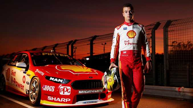Scott McLaughlin could wrap up the Supercars championship in the Sydney night race. Picture: Tim Hunter.
