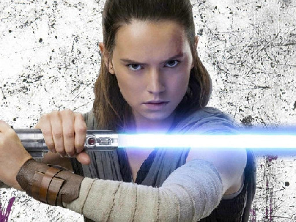 Daisy Ridley in Star Wars: The Last Jedi. Picture: Supplied