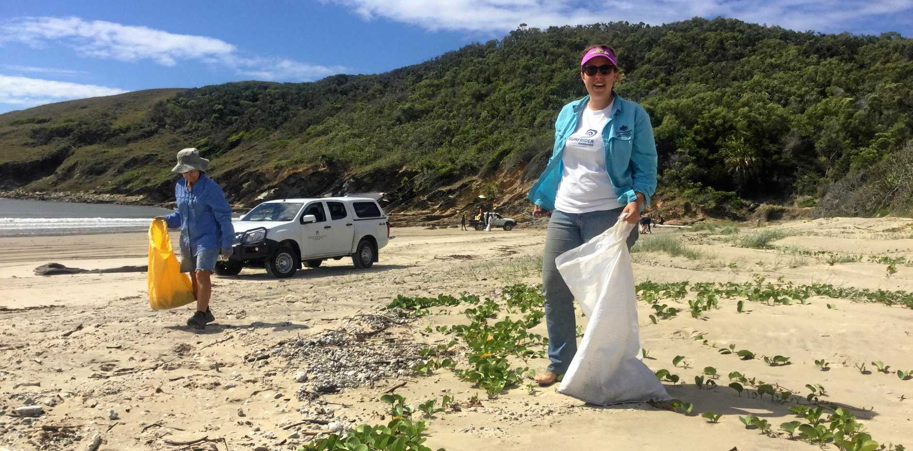Surfrider Foundation Australia's Capricorn Coast branch hosted the inaugural Five Rocks Clean Up s.