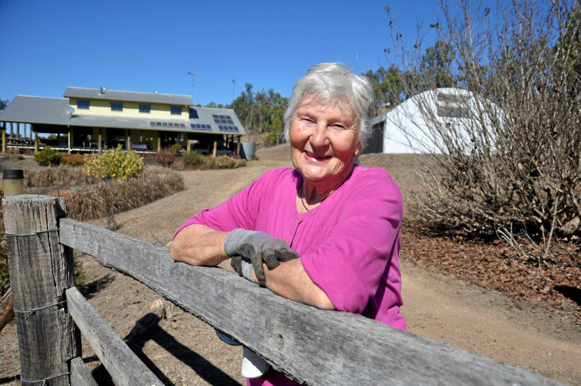 ECO-FRIENDLY: Joan Derrick's 30-acre Bancroft property