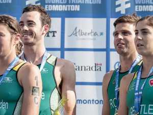 Team effort for triathlon win