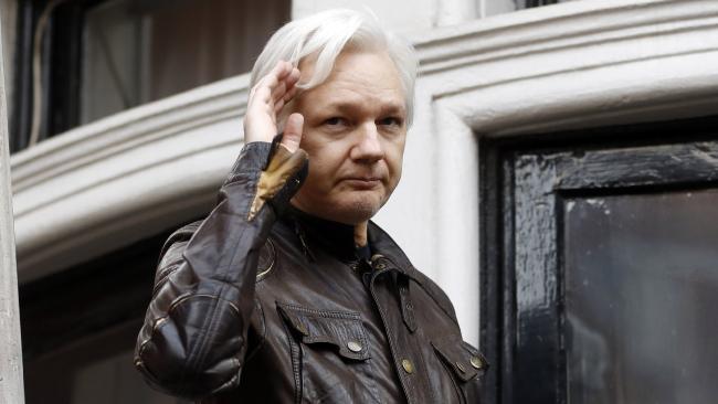 WikiLeaks founder Julian Assange. Picture: AP