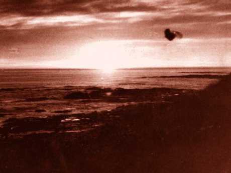 Photograph taken off Cape Otway 20 minutes before Valentich flew overhead.