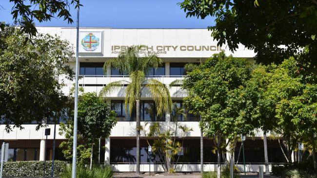Ipswich City Council building. Picture: Claudia Baxter/The Queensland Times