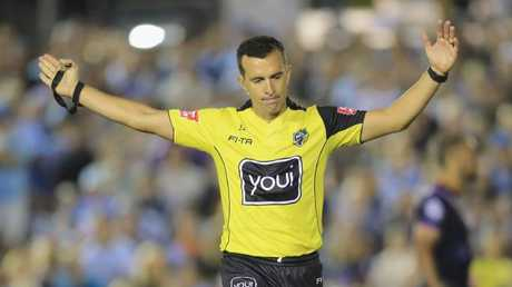Matt Cecchin is set to quit the NRL at the end of the season. Picture: Getty Images