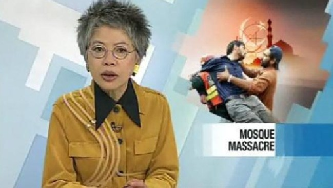 Lee Lin Chin ... An illustrious career in news and farshun.