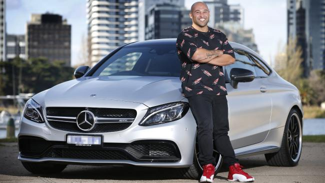 Shane Delia and Mercedes AMG Coupe