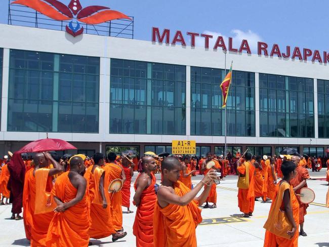 The Mattala Rajapaksa International Airport in Hambantota, Sri Lanka