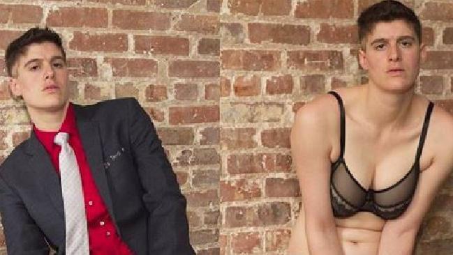Rose McGowan is dating gender non-binary model Rain Dove. Picture: Instagram