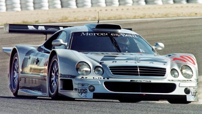 Dream car: Mercedes-Benz CLK-GTR racer