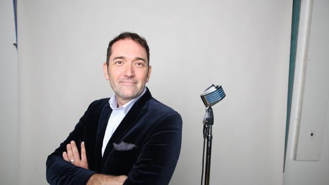 Former The Voice contestant Darren Percival. Picture: David Kelly