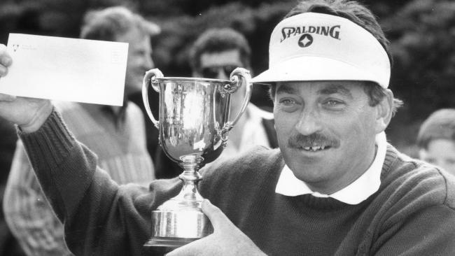 Golfer Ian Stanley was a prolific winner on the Australian tour.