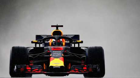 Australia's Daniel Ricciardo during qualifying for the Hungarian Grand Prix.