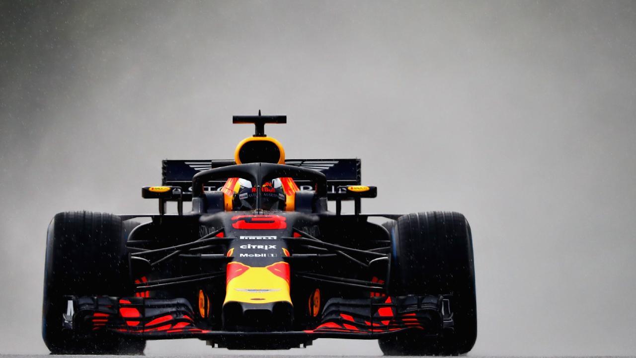 Australia's Daniel Ricciardo during qualifying for the Hungarian Grand Prix.