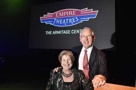 Clive and Conchita Armitage.