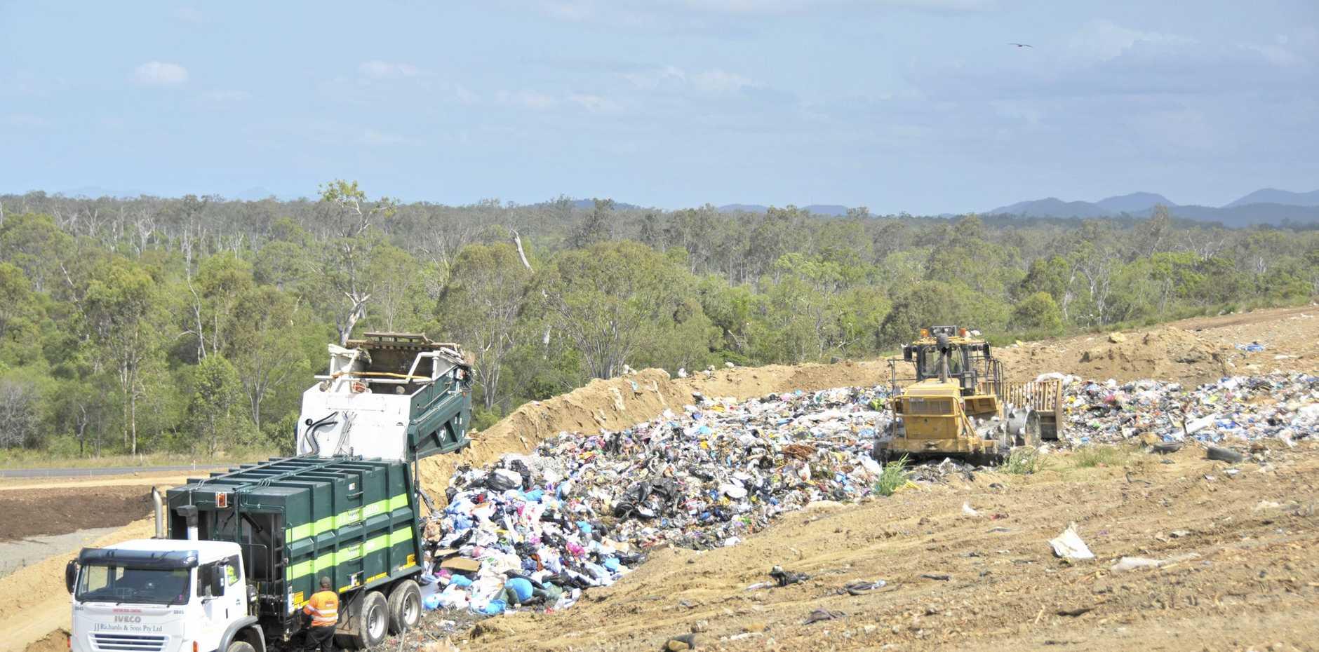 Benaraby Waste Landfill.  Photo David Sparkes / The Observer