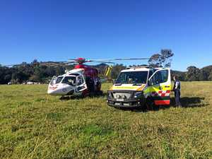 Man injured in quad bike rollover
