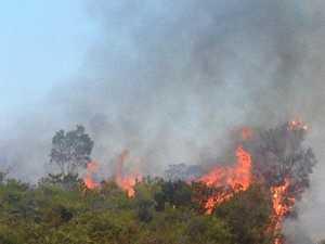 Three-day hazard reduction to burn off 140 hectares