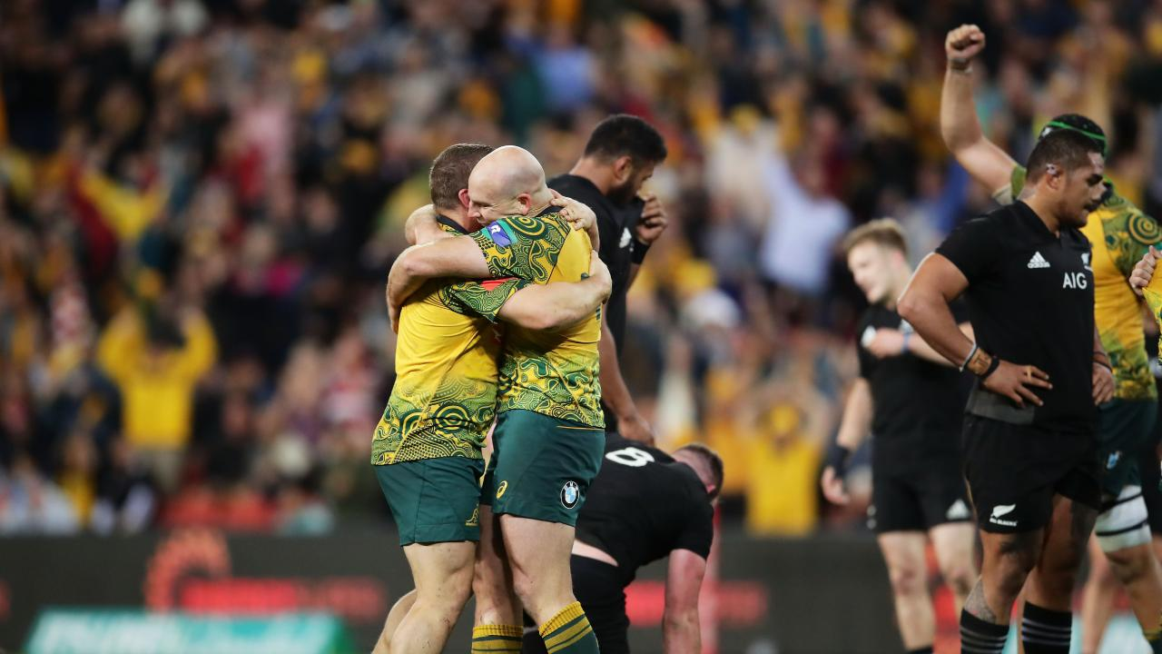 The Wallabies will play the All Blacks in Perth in 2019.