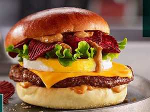 Macca's 'Aussie' burger ridiculed online
