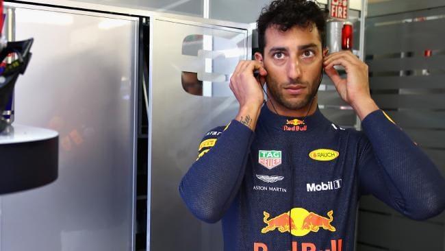 Daniel Ricciardo put Bottas in his place. Picture: Mark Thompson/Getty