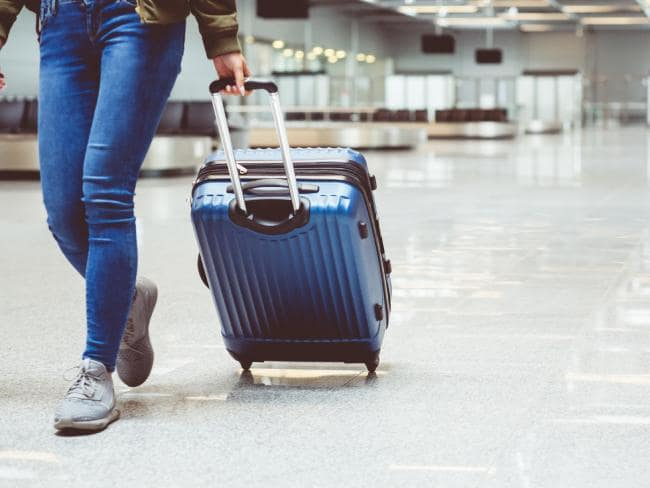 Weight is a big consideration when it comes to cheaper suitcases.