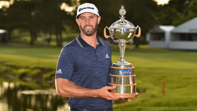 Dustin Johnson has again shown in his class in winning the Canadian Open. Picture: Minas Panagiotakis