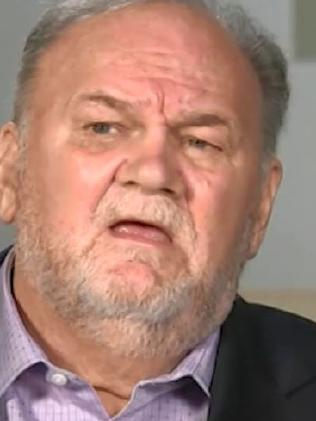 Thomas Markle on Good Morning Britain. Picture: ITV