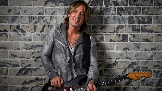 Australian country musician Keith Urban has revealed that his Graffiti U world tour will come home to Australia this January. Picture: AAP