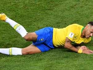 Brazil star admits World Cup diving