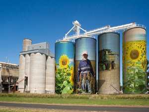 Plans proposed for giant silo art mural in Toowoomba region