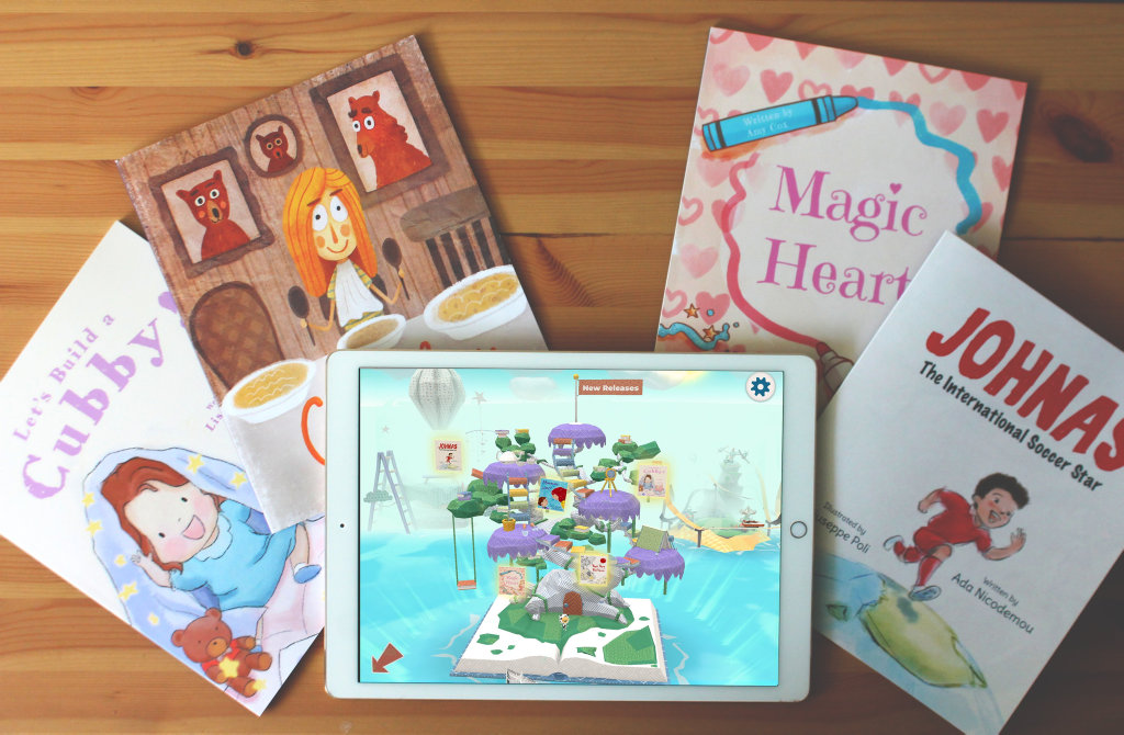 Kindergo's new range of books promise a positive message for children.
